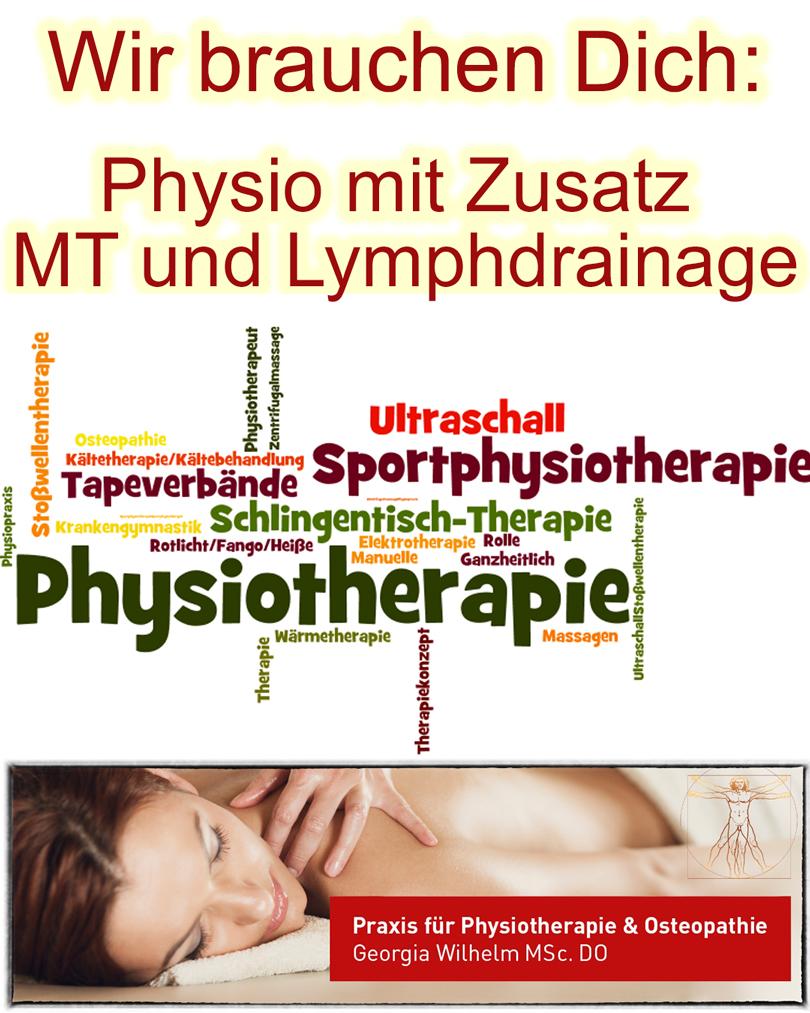 Physio gesucht