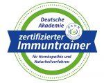 """Siegel """"zertifizierter Immuntrainer"""""""