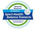 """Siegel """"Sport-Health-Balance-Trainerin"""""""